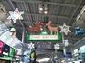 品川駅改札前クリスマスバージョン
