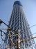 建設中の東京スカイツリー