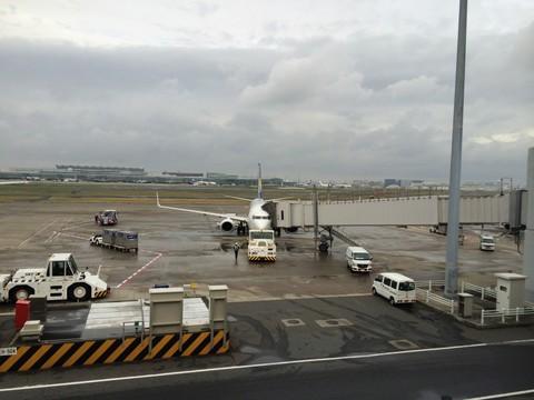 スカイマーク401便 羽田空港