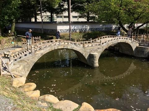 眼鏡橋の模型