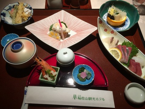 稲佐山観光ホテル 夕食