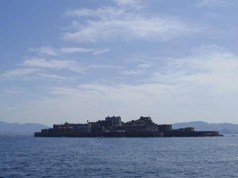 軍艦島に見えるらしい位置から撮った写真