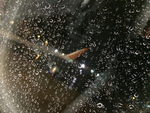 新千歳空港の Jetstar 機内から