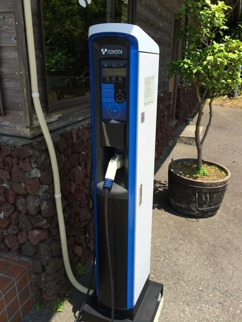 電気自動車用の充電スタンド